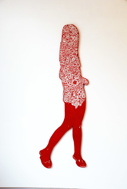 , 'Silhouette of Flowers 1,' 2011, Micheko Galerie