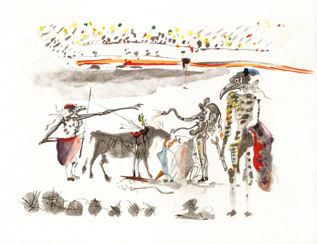 , 'Surrealistic Bullfight The Parrots ,' , Winn Slavin Fine Art