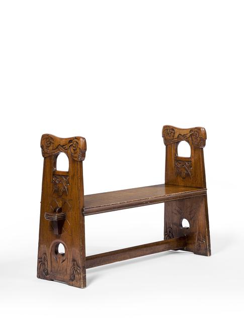 , 'Bench,' 1899, Oscar Graf