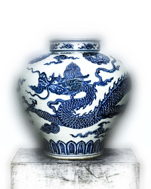 , 'Jar with Dragon,' early 15th-century, The Metropolitan Museum of Art