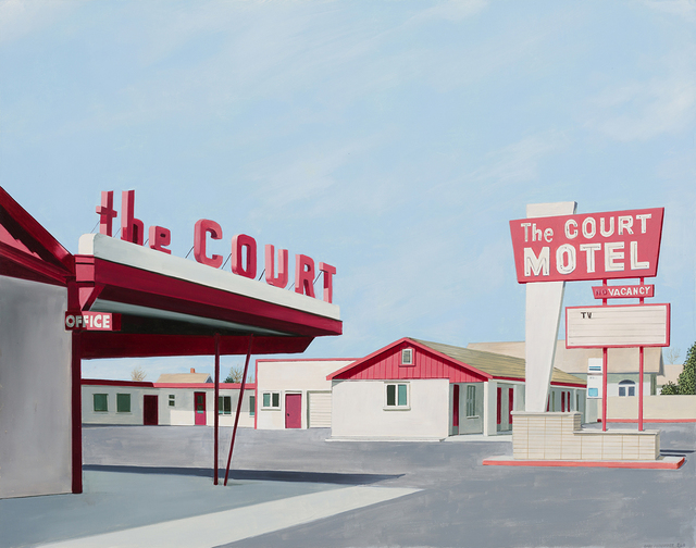 , 'The Court Motel,' 2018, Linda Hodges Gallery