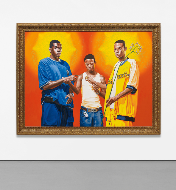 Kehinde Wiley, 'Passing/Posing (Marriage of the Virgin)', 2005, Phillips