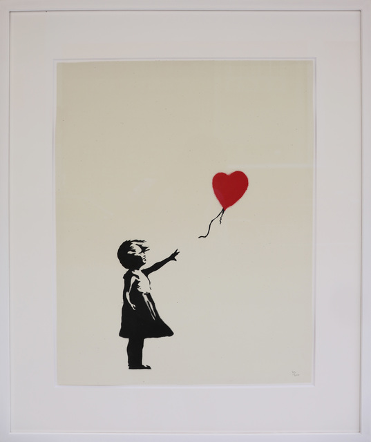 , 'Girl With Balloon unsigned,' 2004, Galerie Kronsbein