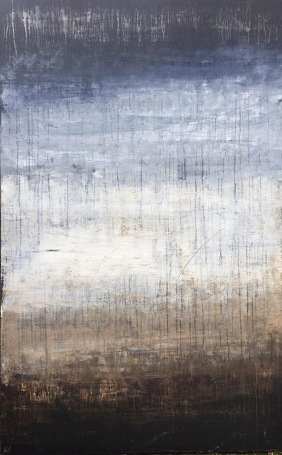 Roger Konig, '1160 abstract blue/white/brown elegance', 2017, Roger König Art