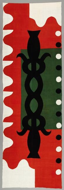 , 'Étoffe teinte au pochoir ,' 2005, Musée national des arts asiatiques - Guimet