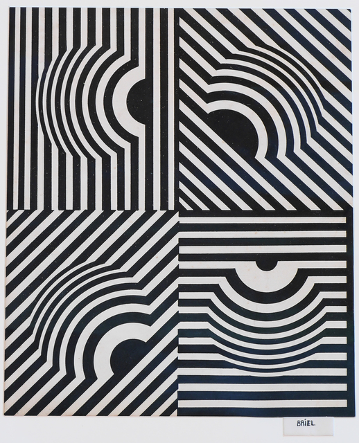 , 'Untitled (Composicion Optica),' ca. 1968, AREVALO