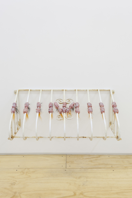 , 'Security Window Grill X,' 2014, CFHILL