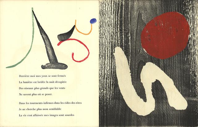 Joan Miró, 'Gravure sur Bois 8', 1958, ArtWise