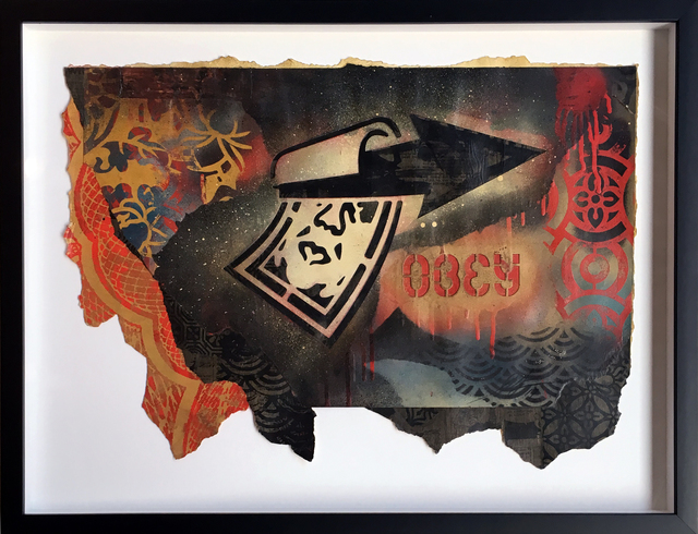 Shepard Fairey, 'Overnight Arrow', 2017, StolenSpace Gallery
