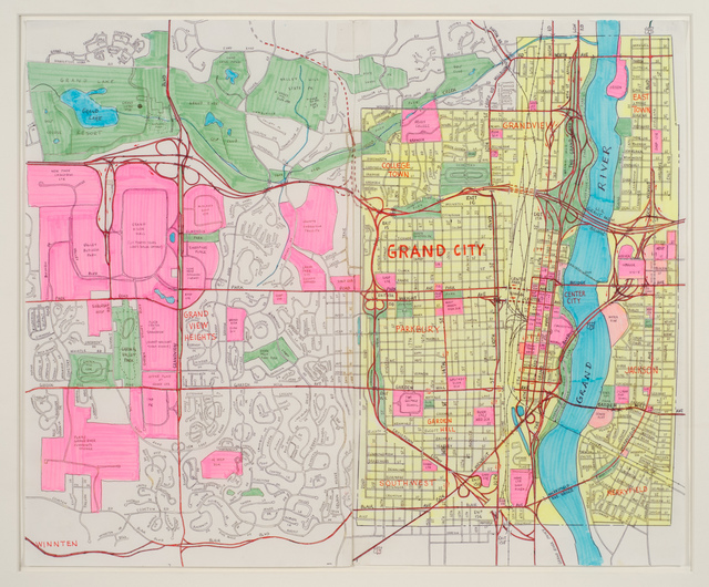 , 'Grand City,' 1990-1999, Fleisher/Ollman