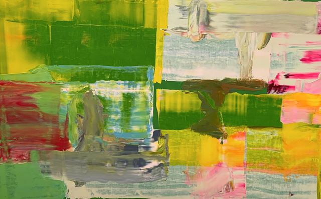 Pedro Calapez, 'Mediación 01', 2019, Painting, Acrylic on aluminum, Galería Fernando Pradilla