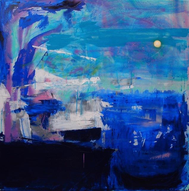 Rodrigo Valles Jr., 'Untitled ', 2016, Painting, Oil, acrylic, oil pastel and spray paint, McCaig-Welles