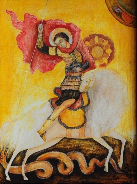 Esther Gonzalez, 'San Jorge Bizantino', n/a, Galería Rocío Castelo