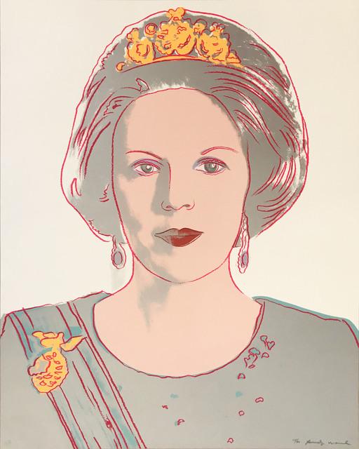 , 'Queen Beatrix of the Netherlands II.339 from the Reigning Queens portfolio,' 1985, Hamilton-Selway Fine Art