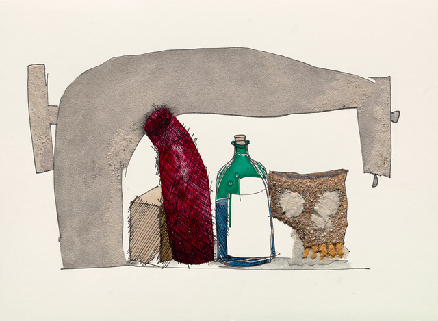 , 'Still Life with Skull, Bottle and Sewing Machine,' 2005, Hamiltons Gallery