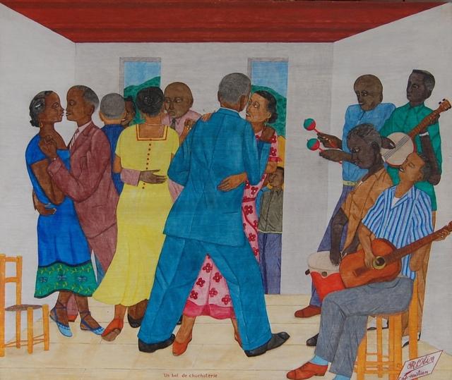 , 'Un Bal de Chuchoterie/Dance of the Whispers,' ca. 1955, ZQ Art Gallery