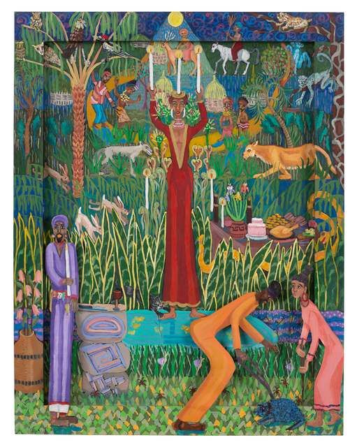 , 'Vodou Ritual Part III: The Celebration,' 1999, JAYJAY