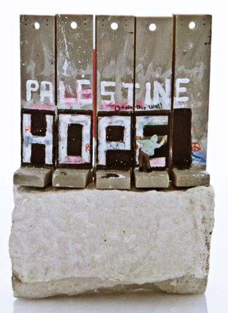 Banksy, 'Palestine Hope Wall', 2017, Alpha 137 Gallery Auction