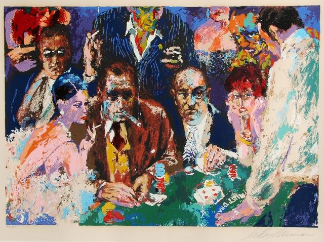 LeRoy Neiman, 'Vegas Blackjack', ca. 1982, RoGallery