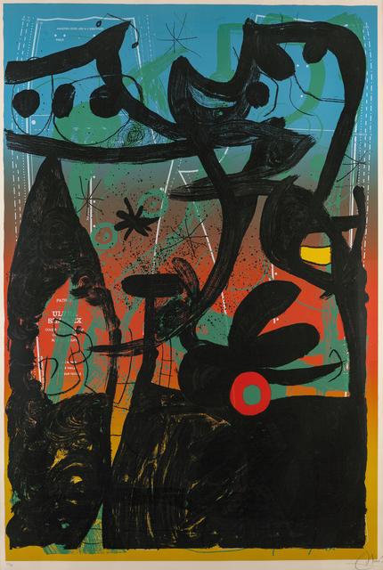 Joan Miró, 'Mannequin Parade in Bahia', 1969, John Moran Auctioneers