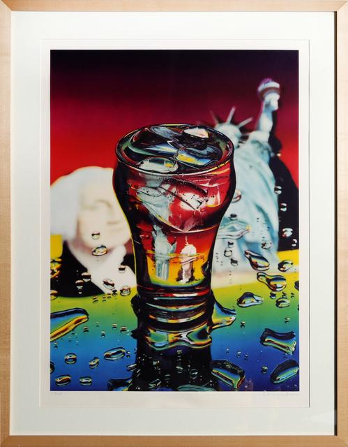 Ben Schonzeit, 'Yankee Flame', 1976, Print, Collotype, RoGallery