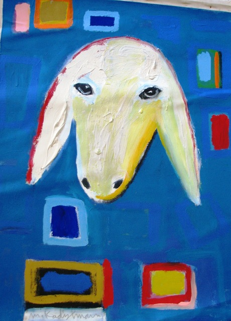, 'Sheep Portrait in Blue,' , Galerie AM PARK