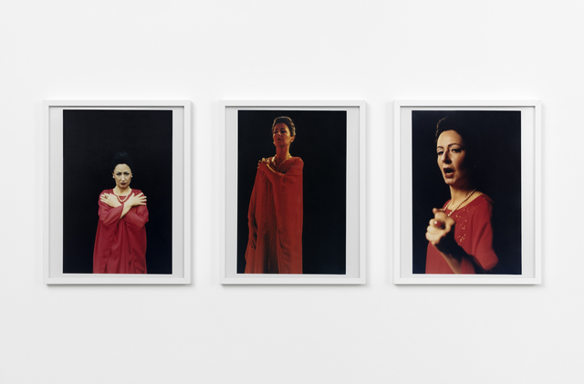 , 'MC (numéro rouge),' 2018, Esther Schipper