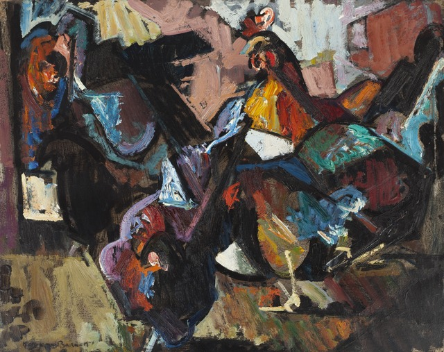 , 'Hens, No. 2,' 1947, Childs Gallery