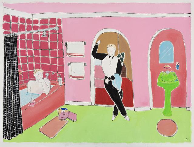 , 'Bathtub Conversation,' 2018, Steve Turner
