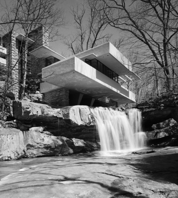 , 'Fallingwater, Frank Lloyd Wright, Bear Run, PA,' 1971, Yossi Milo Gallery