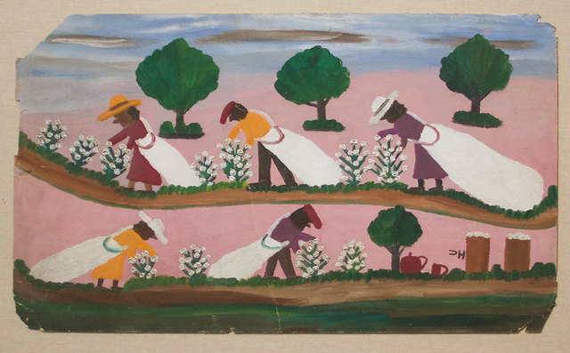 , 'Cotton Pickin,' ca. 1960, David Lusk Gallery