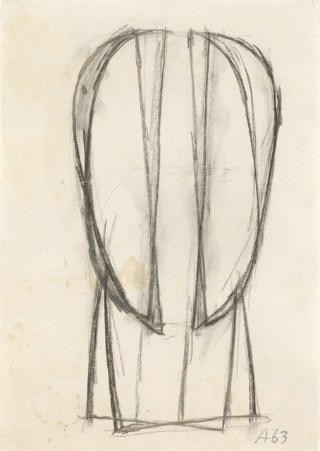 , 'Study of a Head,' 1963, Galerie Bei Der Albertina Zetter