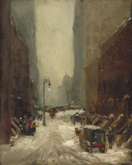 , 'Snow in New York,' 1902, National Gallery of Art, Washington, D.C.
