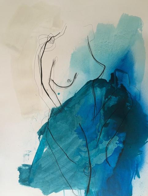 , 'Celestial Oceans of Aquas X,' , Chicago Art Source