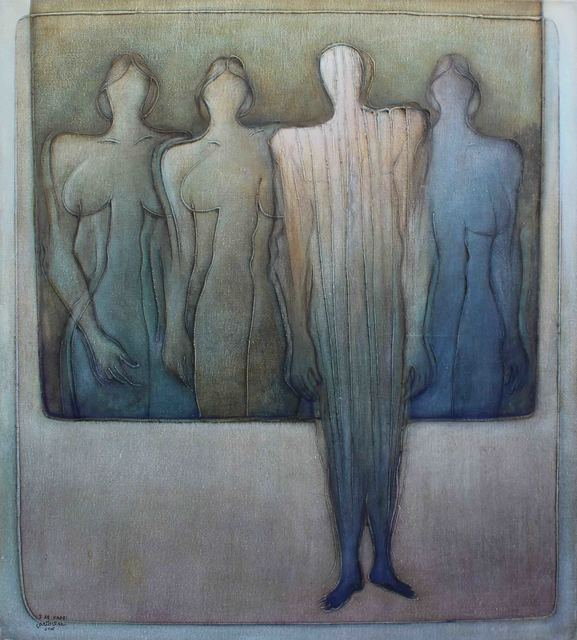 , 'Discourse of Silence 1,' 2016, al markhiya gallery