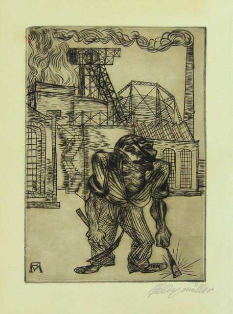 , 'The Old Collier | Der alte Kohlenarbeiter,' 1921, Gilden's Art Gallery