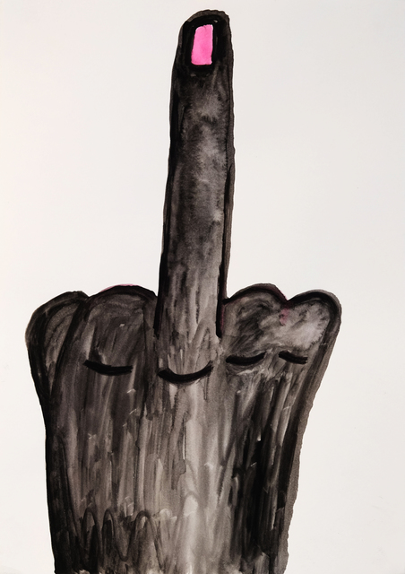 , 'One Finger Salute,' 2015, Charlie Smith London