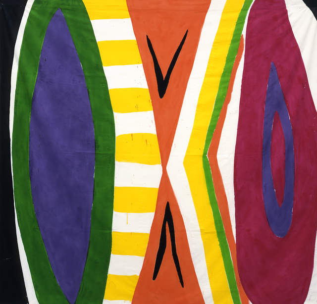 , 'Untitled #3 (black, white, green, purple, yellow, orange, magenta, brown),' 2003, Rosamund Felsen Gallery