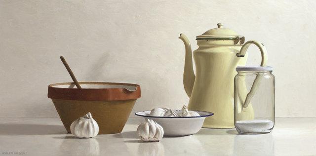 , 'Stil life with garlic,' 2018, Smelik & Stokking Galleries