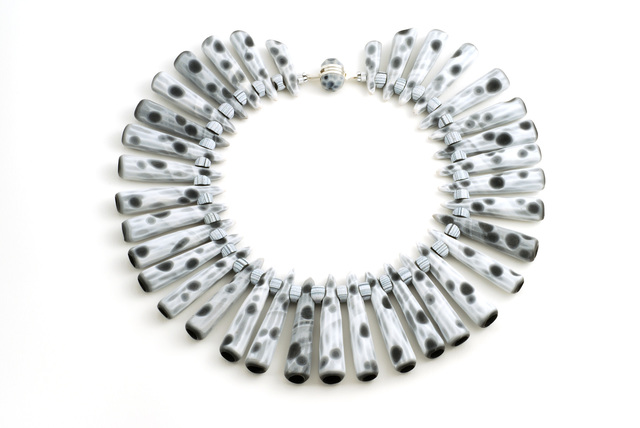 , 'Tube Necklace #44,' 2011, form & concept
