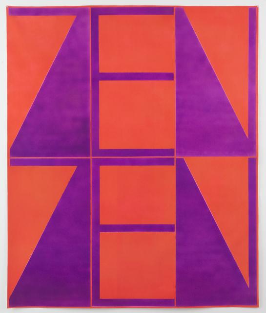 , 'Orange-Violet ZenZen,' 2018, Xippas