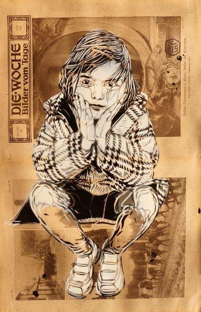 C215, 'Seated Girl (Die-Woche Bilder vom Tage)', Roseberys