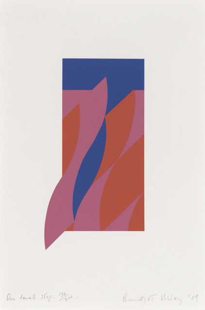 Bridget Riley, 'One Small Step', 2009, RAW Editions