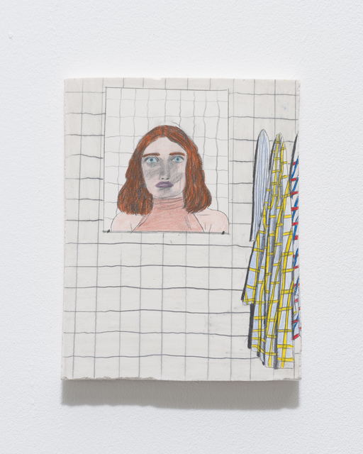 Marie Jacotey, 'And the face in the mirror, no longer familiar.', 2014, Hannah Barry Gallery