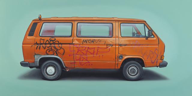 , 'Martin-Hoffmann,' 2014, Jonathan LeVine Projects