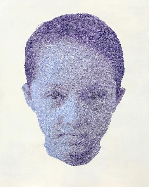 , 'Mei Lin violet,' 2017, Muriel Guépin Gallery