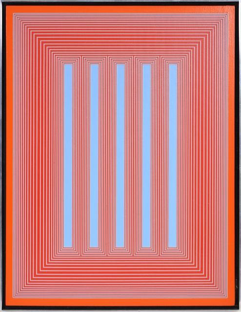 Richard Anuszkiewicz, 'Untitled form the Temple series', 1985, Shapero Modern