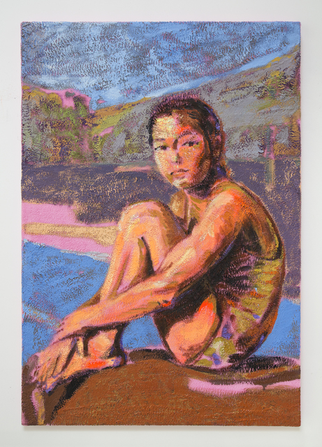 Claire Tabouret, 'The Swimmer', 2019, Night Gallery