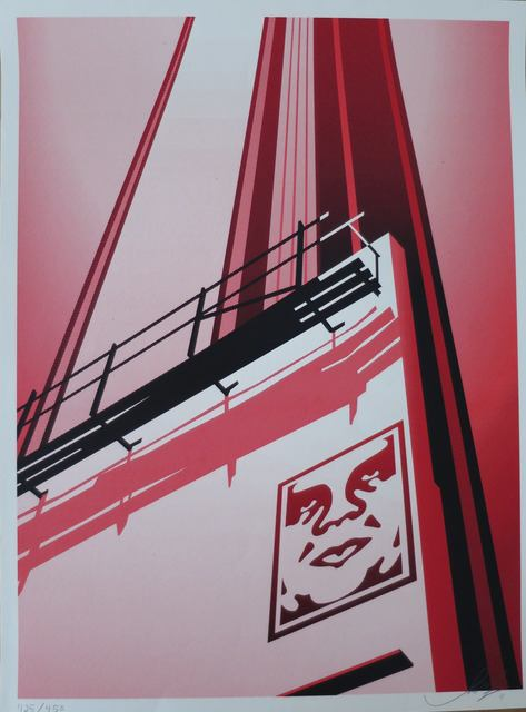 Shepard Fairey (OBEY), 'Sunset and Vine', 2011, AYNAC Gallery