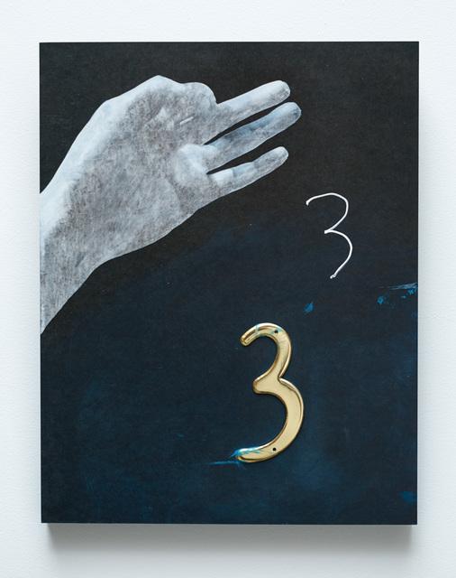 , '3,' 2015, Tina Kim Gallery